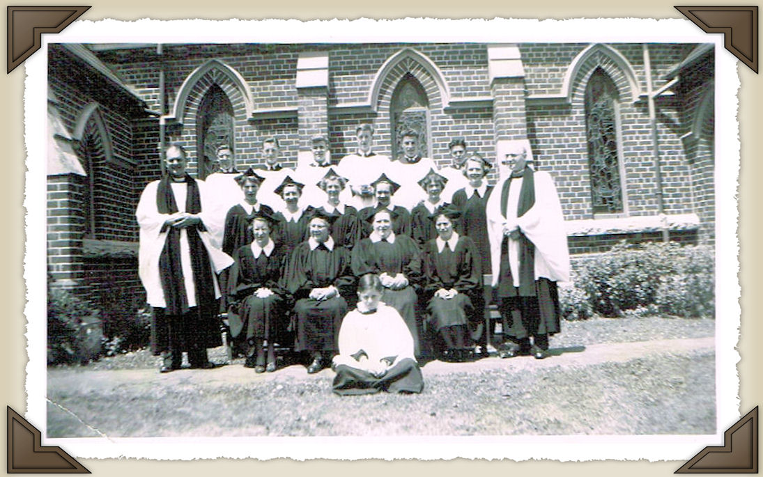 Choir and Clergy in 1950